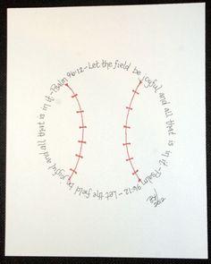 Baseball by Merzie