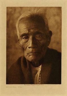 Library of Congress: Edward S Curtis Collection Antonio Azul - Pima