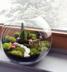 Añadir un poco de verde a tu espacio interior con un terrario vistoso no es nada complicado, aunque a la simple vista parezcan diseños que sólo profesionales pueden realizar. Los terrarios no sólo son un refuerzo de oxígeno para el hogar, sino que a demás son fáciles de crear y se pueden hacer en una …