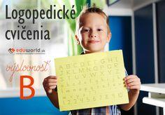 Logopedické cvičenia - výslovnosť B Periodic Table, Logos, Montessori, Anna, Periotic Table, Logo