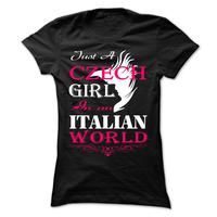 Just A Czech Girl in an Italian. Limited Time Offer! Not Sold In Stores. Safe and secure checkout via: Paypal VISA MASTERCARD Thats it! REMEMBER: This campaign ends in less than 7 days Dont forget to share this campaign with family and friends before its too late!