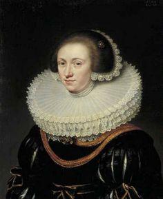 Jan Anthonisz van Ravesteyn | Portrait of a woman, 1631 | Museum Boymans van Beuningen
