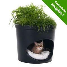 Niche pour chien et chat et pot de fleurs 2 en 1 Pet Planter - À prix avantageux chez zooplus