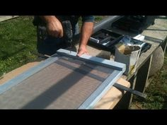 How To Make A Window Screen You Wooden Windows Diy Home