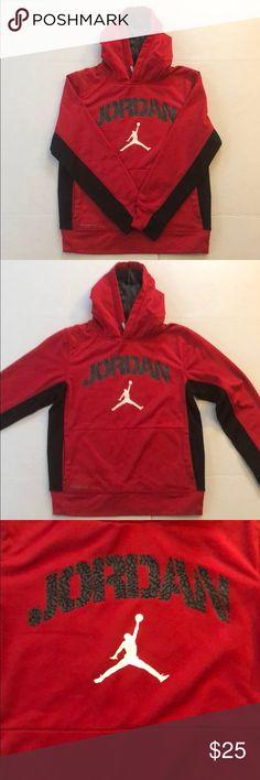6c67b6626e57 Jordan hoodie Red and black Jordan hoodie Jordan Shirts   Tops Sweatshirts    Hoodies