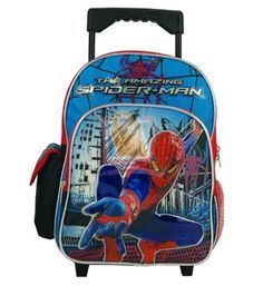 Spiderman Toddler Rolling Backpack ** Check out this great product. (This is an Amazon Affiliate link)