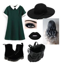 """""""Summer"""" by exanon on Polyvore featuring Dr. Martens and Lime Crime"""