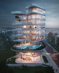 Cyprus tower designed by Atelier Monolit is part of Zaha Hadid architecture Rome Italy - Zaha Hadid architecture Rome Italy Zaha Hadid Architecture, Architecture Building Design, Education Architecture, Concept Architecture, Futuristic Architecture, Residential Architecture, Contemporary Architecture, Classical Architecture, Landscape Architecture