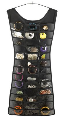 Black Dress Jewellery Hanger