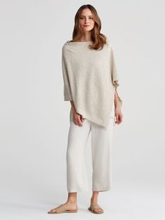 Eileen Fisher Organic Poncho #ecofriendly #sustainable