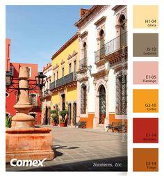 Comex / El color de Zacatecas