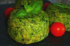Pastelitos de garbanzos y espinacas rellenos de queso de cabra | Cocina