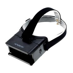 """Andoer Universal 3D Vr Virtual Reality Video Movie Game Glasses for iPhone Samsung 3.5~6"""" Mobile Smartphone. Adjustable pupil distance and sight distance, satisfying different groups of people. Easy to install your cell phone onto the 3D glasses. Protective mat and adjustable board can clamp your phone firmly. Head mount to put around your head and enjoy a visual feast comfortably, allowing you staying in bed or sofa as you like. Suitable for Android and IOS smartphones that screen…"""