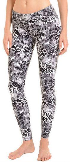 1242abc53545c Danskin® Ladies' Supplex Active Yoga Legging-Black/White Black Leggings,  Yoga