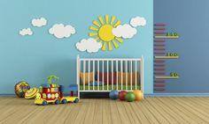 Papel de parede para quarto de bebê: ideias e inspirações