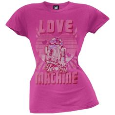 Star Wars - Machine Juniors T-Shirt