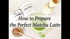 How to make the best Matcha Latte using Akira Matcha and Chai Spice - YouTube