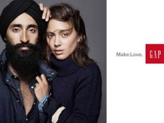 The GAP ad starring Sikh Model.