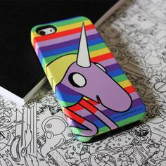 Adventure Time Lady Rainicorn Phone Case for iPhone and Galaxy