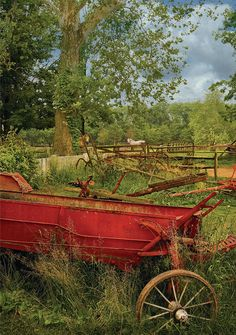 Image detail for -... Mike Savad - Farm - Tool - In the country II Fine Art Prints and