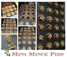 Mini mince pies #ChristmasMakeAhead Christmas Makes, Xmas, Piece Of Cakes, Tooth Fairy, Sweet Tooth, Cheer, Baking, Pink, Bakken