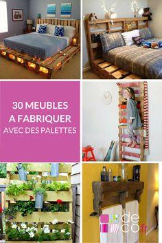 30 Meubles Faire Avec Des Palettes
