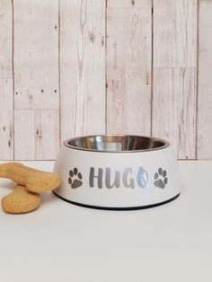 Personalised dog bowls only for the small and for the large! Also available in grey🐶 Plastic Dog Bowls, Pet Bowls, Dog Photo Frames, Stainless Steel Dog Bowls, Raised Dog Bowls, Ceramic Dog Bowl, Dog Treat Jar, Personalised Frames, Dog Food Storage