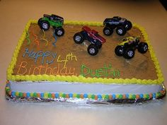 Image detail for -cakes :: Dustin's monster truck cake picture by krista_stampinfun ...