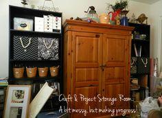 Organizing/Storage Ideas :: Adventures in Decorating's clipboard on Hometalk :: Hometalk