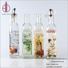 Hot selling olive oil spray bottle glass bottle with low price