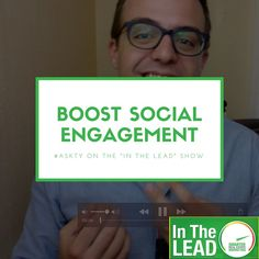 When it comes to social media, agents are often asking how do I get more engagement on these platforms? These simple tips will help you get better leads now