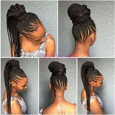 Peachy The Glam Life Nicki Minaj Stuns In Ghana Braids Hairstyle See P Hairstyles For Men Maxibearus
