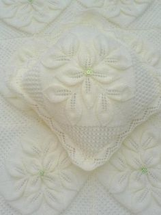 Free Knitting Pattern Leaf Baby Blanket : Princess Pram Cover By Paragon - Free Knitted Pattern ...