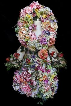 A selection of the costumes and smaller props handmade by British artist Kirsty Mitchell for her photographic collection the 'Wonderland' series 2009 - 2014 Kirsty Mitchell Wonderland, Art Alevel, Wonderland Costumes, Dress Drawing, Floral Fashion, Artistic Photography, Art Photography, Whimsical Art, Amazing Flowers