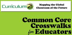 Live Binder of Common Core Crosswalks  http://www.livebinders.com/play/play/52180