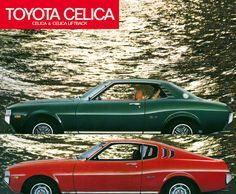 TOYOTA CELICA French brochure 1977