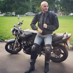 Hello I am a Motorbiker from the Netherlands. All images and movies are of people thought to be 18 or older. Dominant Man, Gay, Studded Jacket, Bald Men, Leather Jeans, Werewolf, Motocross, Gorgeous Men, Shaving