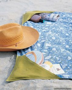 """See the """"Beach Blanket with Pockets"""" in our Summer Sewing Projects gallery"""