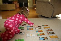 Five beginner games for two and three year olds.  Do you know of any to add to this list?
