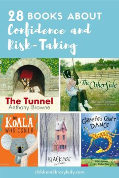 28 of the Best Books about Confidence and Risk-Taking Comprehension Activities, Reading Strategies, Teaching Reading, Teaching Kids, Creative Teaching, Reading Lists, Giraffes Cant Dance, Learner Profile, Learning Resources