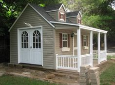 Playhouses :: Cape Cod :: Cape Cod Mansionbr(8x10 to 8x14) - Amish Backyard Structures