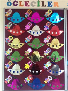 Top 40 Examples for Handmade Paper Events - Everything About Kindergarten Classroom Rules, Kindergarten Classroom, Classroom Themes, Summer Camp Crafts, Camping Crafts, Sistema Solar, Activities For Kids, Crafts For Kids, Baby Quiet Book