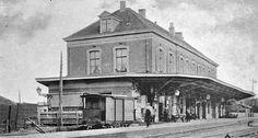 Station Naarden-Bussum ca.1902.