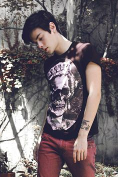 Boy Outfits, Handsome, Punk, Mens Fashion, Pretty, Model, Style, Block Prints, Bebe