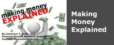 Making Money ExplainedTime To Get Ahead