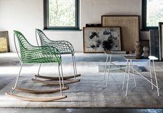 Sledge   Nos produits   Fauteuil   Rocking chair GUAPA DN