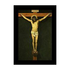 Velazquez Art Canvas//Poster Print A3//A2//A1 Christ On The Cross 1632