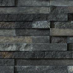Cultured stone Trek Pro-Fit® Terrain™  Ledgestone colour swatch Faux Stone Veneer, Manufactured Stone Veneer, Create A Signature, Color Swatches, Hardwood Floors, New Homes, Exterior, Trek, Lost