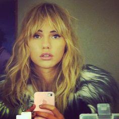 My fav model/actress at the moment suki waterhouse ❤️ More
