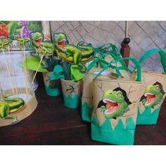 Bolsitas De Dinosaurio Unicas - $ 12,99